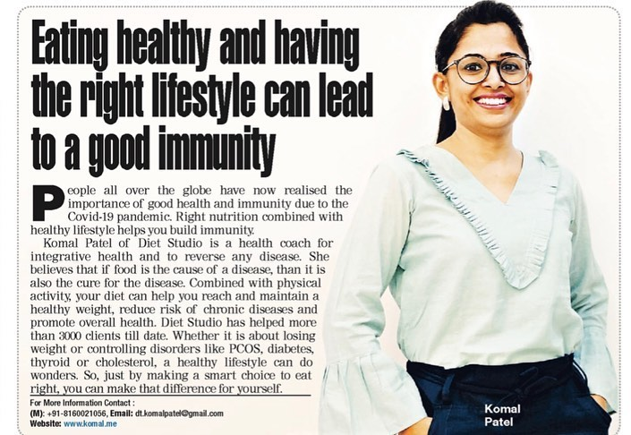 Komal Patel,  vocalforlocal, komalpatel, dietitian, dietstudio, dietplan, healthylifestyle, healthyliving, nutrition, nutrionist, bestdietitianinindia, weightloss, pcos, diabetes, thyroid