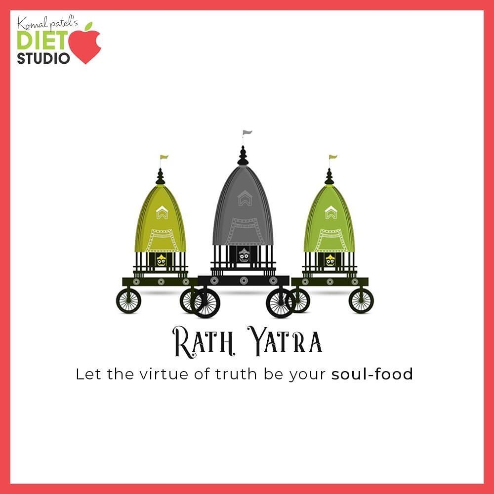 Let the virtue of truth be your soul-food  #RathYatra2020 #RathYatra #LordJagannath #FestivalOfChariots #Spirituality #komalpatel #onlineconsultation #dietitian #ahmedabad #dietclinic #dietplan #weightloss #pcos #diabetes #immunitydietplan
