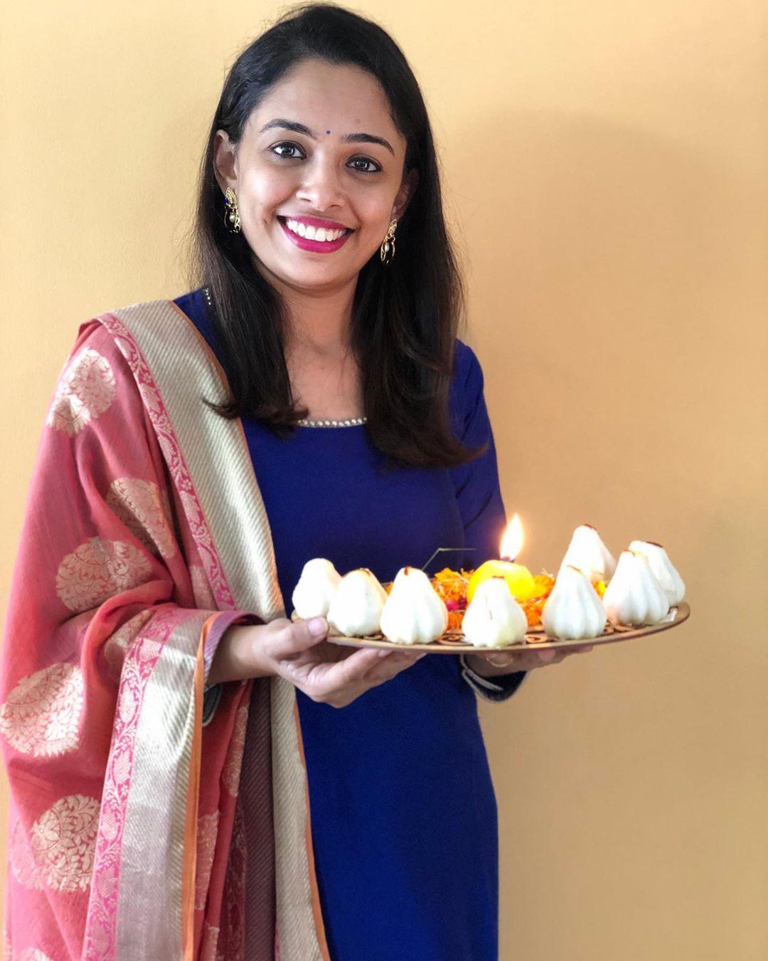 Komal Patel,  modak#ganpatibappamorya, Komalpatel