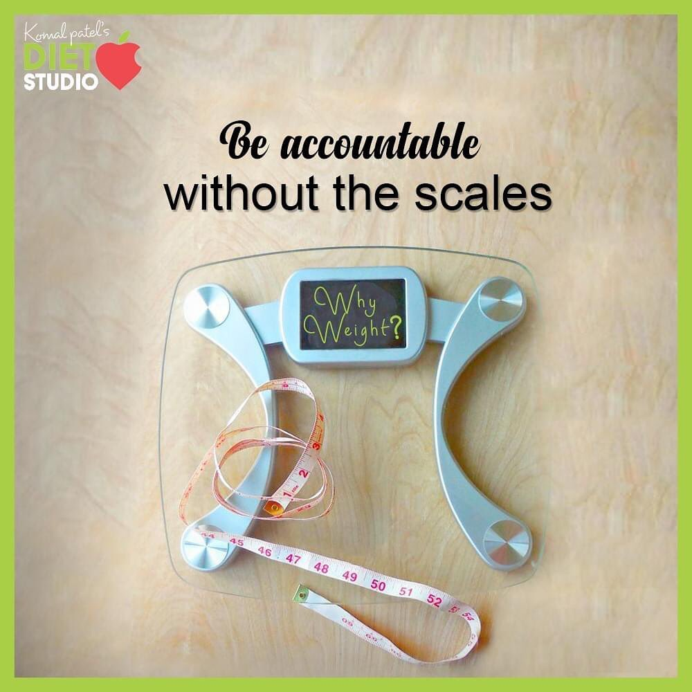 #DidYouKnow? Be accountable without the scale! The number on weighing scale is not everything and you can track your weight-loss progress even without a weighing scale.   Checking your body weight is just one parameter but it is not everything. There are many other aspects which needs to be taken care of while you wish to check on your health. Be addicted to good health but not to the weighing scale. Stay tuned and we will be shortly introducing you to many interesting & effective techniques that will help you to monitor & map your fitness journey.  #StayTuned #TipOfTheDay #ThinkBeyondWeighingScale #KomalpPatel #Diet #GoodFood #EatHealthy #GoodHealth #DietPlan #DietConsultation