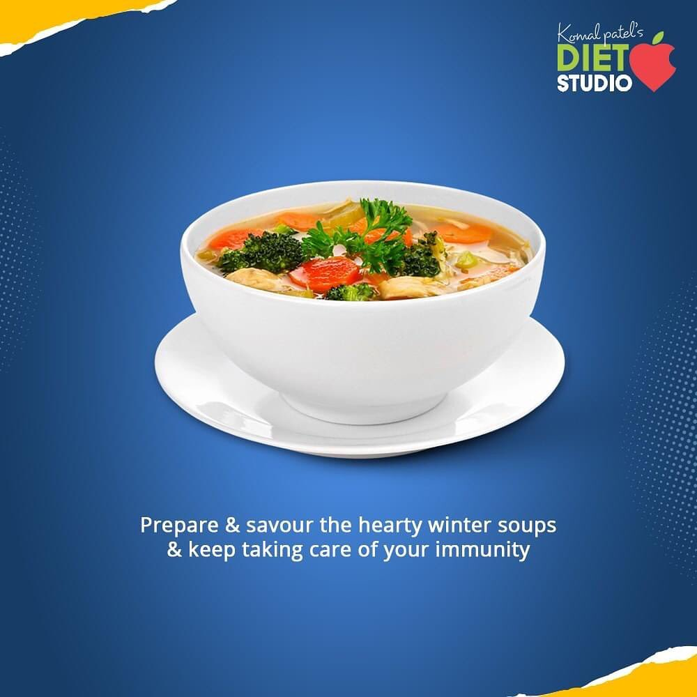As the winter season is already here, it is the time to get that broth brimming and prepare luscious warm cups of soups that will comfort you and help you to ward away the inter chills.  But choose not to buy the instant soup mixes available in the market and prepare the easy soup recipes at home.  #CustomizedDiet #DietConsultation #PersonalFitnessProgram #HealthIsForever #DoNotCountCalories #ThingsToCount #KomalPatel #Diet #GoodFood #EatHealthy #GoodHealth #DietPlan #dietconsultation #DietConsultation