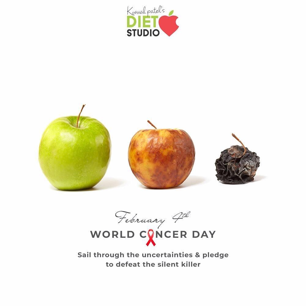 Sail through the uncertainties & pledge to defeat  the silent killer  #WorldCancerDay #IAmAndIWill #WorldCancerDay2021 #ActAgainstCancer #KomalPatel #GoodFood #EatHealthy #GoodHealth #DietPlan #DietConsultation