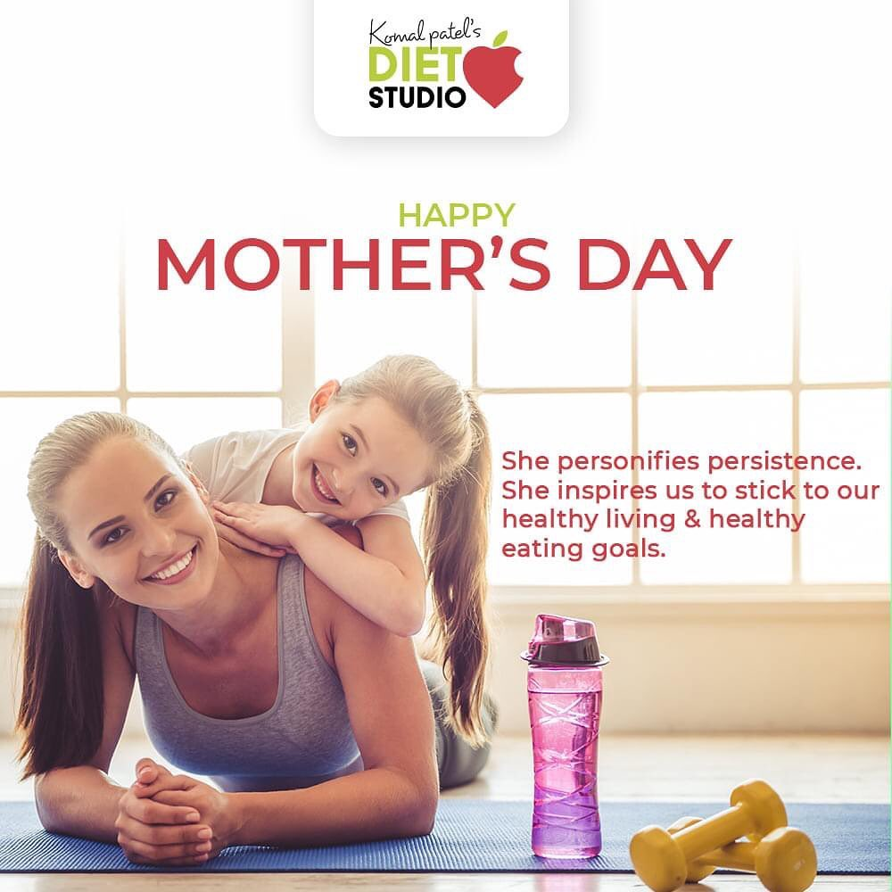 She personifies persistence. She inspires us to stick to our healthy living & healthy eating goals.  #HappyMothersDay #MothersDay #MothersDay2021 #Motherhood #KomalPatel #GoodFood #EatHealthy #GoodHealth #DietPlan #DietConsultation #21DayChallenge #Health #Dieting #Diet #WeightLoss #Fitness #DietFood #DietTips #ExplorePage