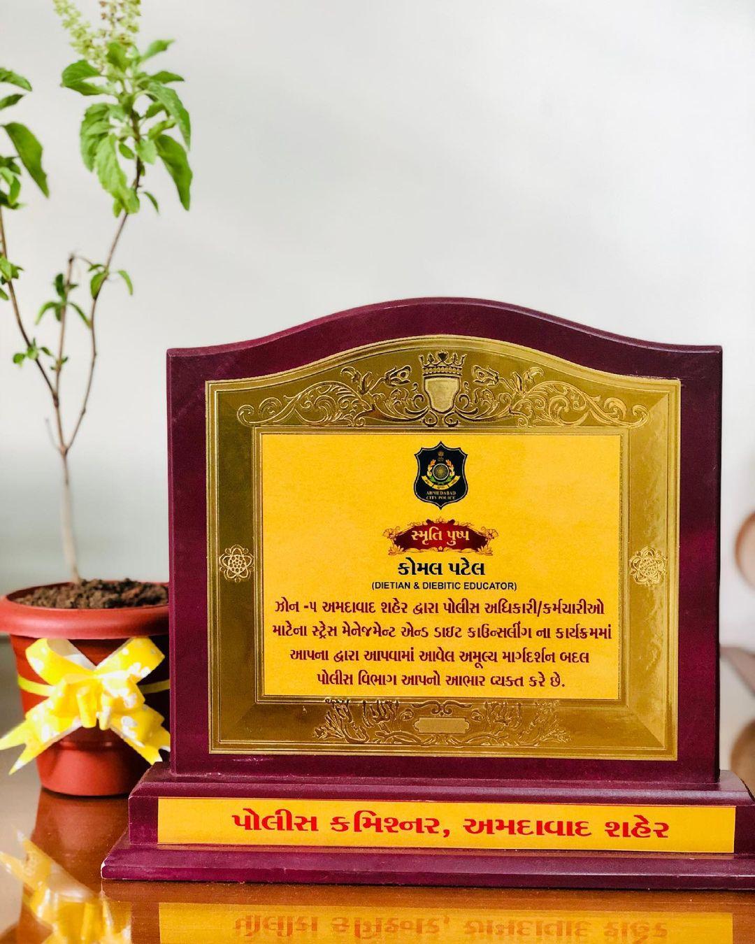 Komal Patel,  ahmedabadpolice, awarness, dietseminar, komalpatel, dietcouncelling, policehealth, policediet, nutrition, nutrionist, dietitian