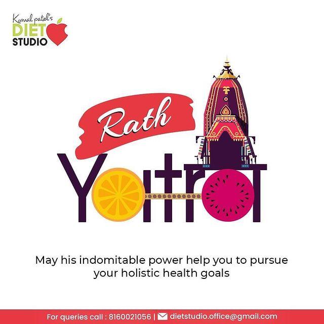 May his indomitable power help you to pursue your holistic health goals!  #rathyatra #jagannath #jaijagannath #lordjagannath #rathyatra2021 #chariot #indianfestivals #jagannathrathyatra