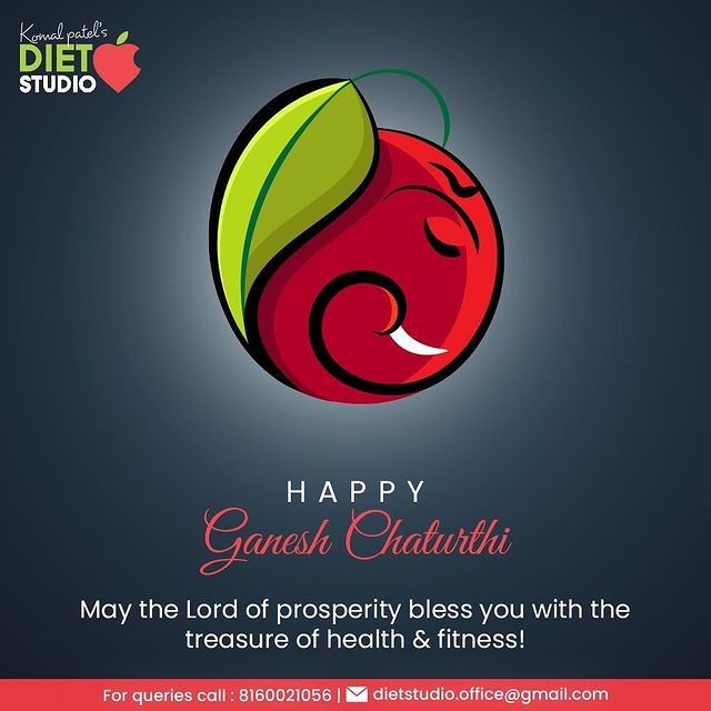 Komal Patel,  GaneshChaturthi, HappyGaneshChaturthi, GaneshChaturthi2021, LordGanesha, IndianFestival, KomalPatel, GoodHealth, DietPlan, DietConsultation