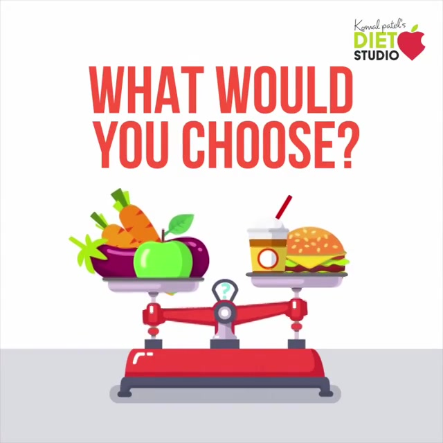 What's your choice??? Health over junk  #health #fitness #chosewisely #eathealthy #eatsmart #besmart